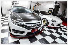Stance . Low . Life: Modded Honda Civic FC Turbo (Rocket Bunny / Libert...
