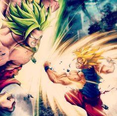 Goku Vs The Legendary Broly