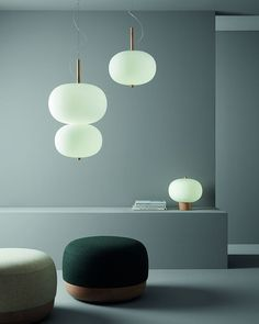 The Ilargi collection by combines the warmth of wood with matte varnish finishes and opal glass to achieve a subtle soft light creating a warm and natural ambience. The traditional hand Interior Lighting, Home Lighting, Lighting Design, Pendant Lighting, Ceiling Lamp, Ceiling Lights, Interiores Design, Minimalist Design, Lamp Light