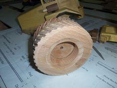 Wooden equipment wheels