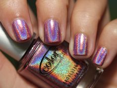 Color Club Miss Bliss Holographic Nail Polish