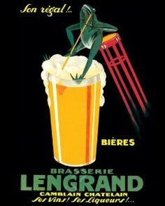 Brasserie Lengrand Poster Print, 16x20
