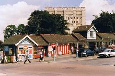 Old pic of Norwich before Castle Mall built
