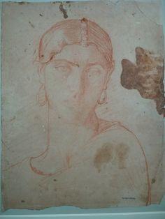 CHASSERIAU Théodore,1843 - Ste Marie l'Egyptienne, Assomption, Etude pour l'Eglise St-Merri(5) - drawing.