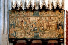 Xanten, Dom St. Victor, tapestry by groenling, via Flickr - ok.1570