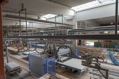 Moderne Produktionsanlagen bei Hartl Haus Montage, Modern, Carpentry, Trendy Tree