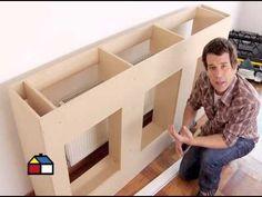 ¿Cómo construir un mueble en obra?