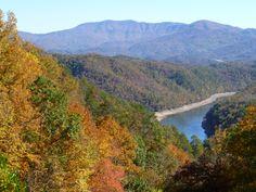 The smoky mountains of NC and TN!