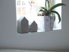 Underbara Saker - DIY: betonghus