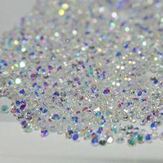 1.5mm Micro Mini Rhinestones Shinny Glitter 3D Nail Art Accessory DIY Decoration