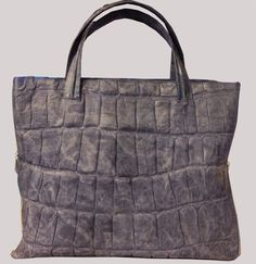 Large light weight Leather Tote perfect for by criveropiel on Etsy, $160.00