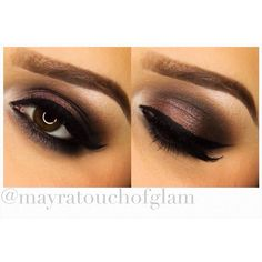 """Don't forget to watch my """"Winter Smokey Eye Tutorial"""" Direct link is on my bio"""