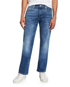 Joe's Jeans Men's The Classic Fit Straight Jeans In Blue Joes Jeans, Jeans Fit, Legs, Classic, Fitness, Cotton, Pants, Blue, Clothes