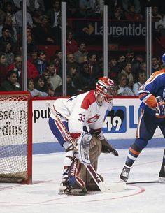 Montreal Canadiens, Patrick Roy, Hockey Goalie, National Hockey League, Denver Broncos, Athletics, Nhl, Artists, Baseball Cards