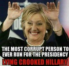 Most corrupt person to run for president