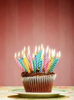 Can eighteen candles fit on one cupcake?