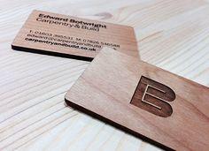 EB Carpentry & Build ~Matt Whitehead | #logo #businesscards #identitydesign