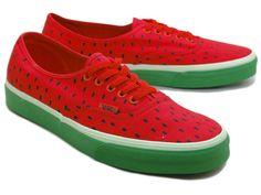 Vans - Watermelon print shoes