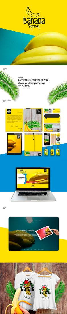 Banana Squad on Behance
