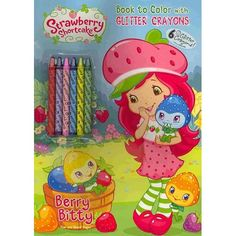 $3.39 Berry Bitty [With 6 Glitter Crayons]