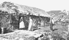 Old photo of rural life in Malinmore, Co. Irish American, Donegal, Old Photos, Celtic, Gazebo, Scotland, Archive, Old Things, Spirit