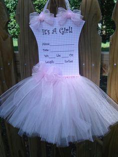 Ballerina Door Hanger