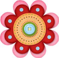 PARA IMPRIMIR: Flores para manualidades
