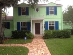 Amazing historical modern home with character and panache in East Delray Beach, Fl ....