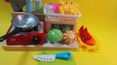 cut & cook toy velcro seafood 해산물 자르기 장난감 요리 놀이 장난감