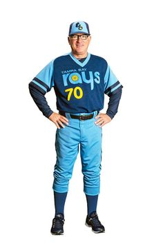 The Tampa Bay Rays' Fake Throwback Jerseys Are Here, And They're… Kind Of Brilliant (modeled by Joe Maddon) Tampa Bay Rays Baseball, Minnesota Twins Baseball, Cleveland Indians Baseball, Chicago Cubs Baseball, Nba Uniforms, Baseball Uniforms, Sports Uniforms, Sports Teams, Sports Jerseys