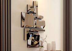 Miroir, mod: MONTPELLIER Montpellier, Wine Rack, Storage, Home Decor, Mirrors, Purse Storage, Bottle Rack, Store, Interior Design