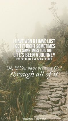 He has ALWAYS been my strength and guide ! :)  I fell in love with the man who died for me.   Jesus