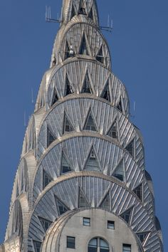 Chrysler Building - more at http://newyorkitecture.com/2012/10/09/spires-crowns-cupolas/