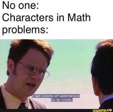 Really Funny Memes, Stupid Funny Memes, Funny Laugh, Funny Relatable Memes, Hilarious, Math Memes Funny, Funny Stuff, Funny Life, Random Stuff