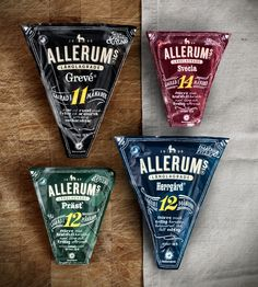 Crit* Allerums - The Dieline - Cheese #packaging