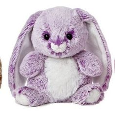 Candy Cuddles 7 Inch Bunny - Purple
