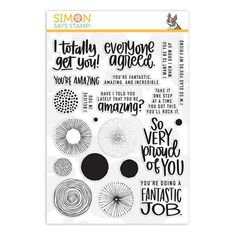 """Simon Says Stamp clear stamps are high quality photopolymer and made in the USA. The stamp set measures 4 inches x 5 inches. This stamp set coordinates with """"Roses For You"""" wafer dies Simon Says Stamp Blog, Card Sentiments, Candy Cards, Album Book, Card Maker, Card Kit, My Stamp, Craft Items, Clear Stamps"""