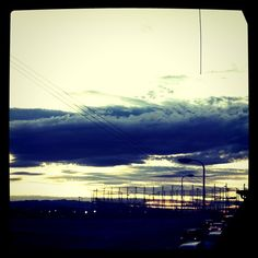 "@nemeanliogram's photo: ""夕日と雲。"""