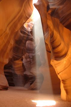 Antelope canyon in northern Arizona. Road trip through southern Utah and northern Arizona.