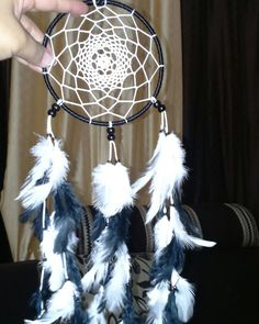 Aura's Black & White Dreamcatcher Wallhanging For orders n enquiries Auradreamcatchers24@gmail.com #auradreamcatchers #auracreationsdreamcatcher #dreamcatchers #wallhanging #dreamcatchersindia #dreamcatchersbangalore #india #handmade #hippie #gypsy #boho #crafts #accessories #walldecor
