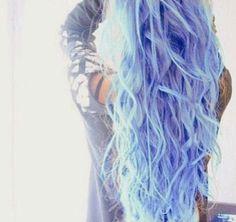 crystal and light blue hair