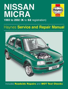 Nissan micra k11 haynes manual download #8