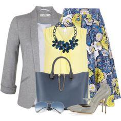 Karen Millen Floral Skirt