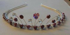 Check out this item in my Etsy shop https://www.etsy.com/uk/listing/535188657/clear-bead-pink-fresh-water-pearl-tiara