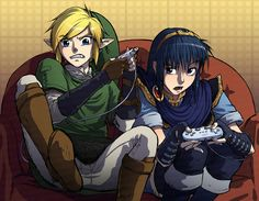 ha marth wishes he was link cause link's just a trillion times awesomer.