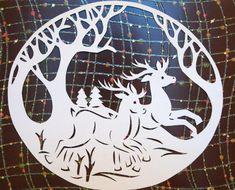 Новогодние украшения для окна - www.bumik.ru