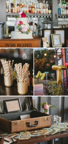 Pretty details from a Richmond, Virginia, wedding.