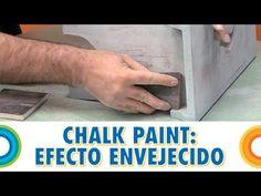 Pintar con chalk paint 1 - Efecto envejecido (Bricocrack)