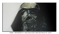 """""""Vader"""" 100X150 cm oil on canvas"""