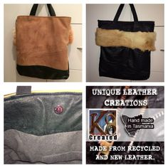 Suede, black leather, antique rabbit fur lined with 100% wool. All recycled materials. Made in Tasmania by K8Created